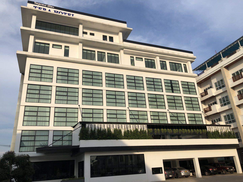 Tera Hotel Vientiane Laos New Building