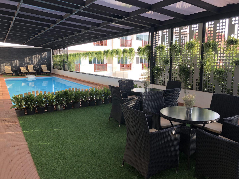 Tera Hotel Vientiane Laos Pool Area