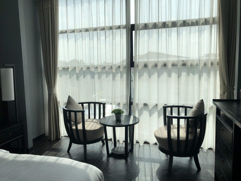 Tera Hotel Vientiane Laos Sitting Area