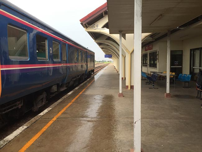 Thanaleng Train Station Immigration Checkpoint Laos
