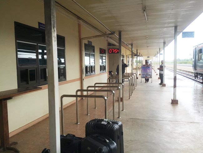 Thanaleng Train Station Immigration Laos