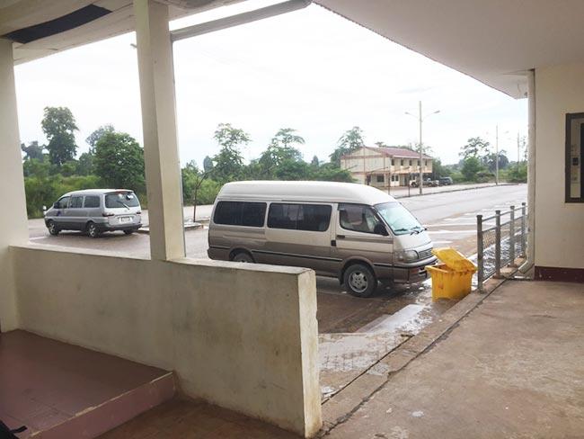 Thanaleng Train Station Van Service to Vientiane Laos