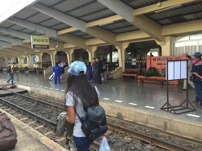Train Bangkok to Nong Khai Thailand Nong Khai Station