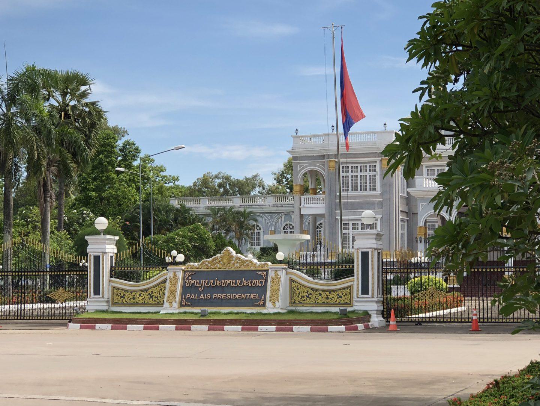 Vientiane, Laos - Presidential Palace