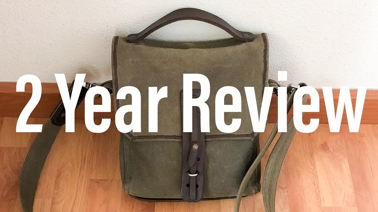 Indiana Waxed Canvas Gear Bag by Saddleback Leather - 2 Year Review