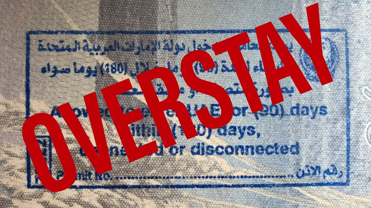 Overstayed my visa in the UAE. I was an illegal alien for 7 days!