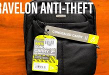 Travelon Anti-Theft Concealed Carry Slim Bag - World Travel Gear