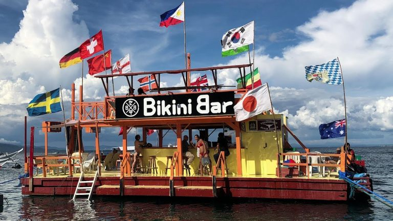 Bikini Bar – Puerto Galera – Best Floating Bar in the Philippines